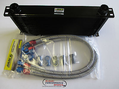 Suzuki GSXR1100 g,h,j 86 to 88 Genuine Earl's Oil Cooler Kit and Earl's Lines