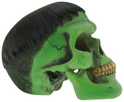 Mean Green Skull - Nemesis Now - Gothic paperweight