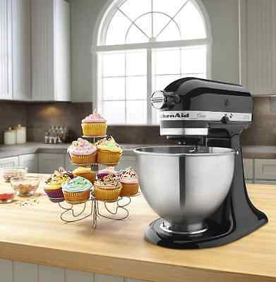 Stand Mixers KitchenAid Classic Series Stainless Steel Bowl Black Bakery Tool