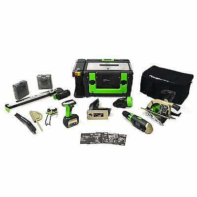 POWER8workshop Lithium 18V Cordless Workshop WS3 model power 8 full deluxe kit