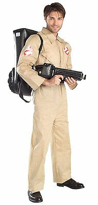 Rubie's Adult Men's Ghostbusters Costume Jumpsuit Proton Pack One Size Halloween
