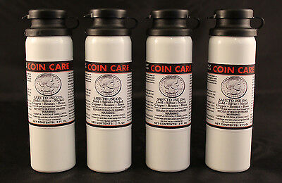 COIN CLEANER - COIN CARE - Gold, Silver, Nickel, Copper, Bronze  - 4 TOTAL