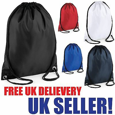 Children Top Quality Bag Rucksack Drawstring Waterproof Pe Swim School Dance New