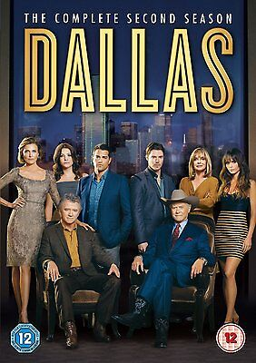 DALLAS COMPLETE SERIES 2 DVD 2nd Second Season Box Set Brand New UK Release