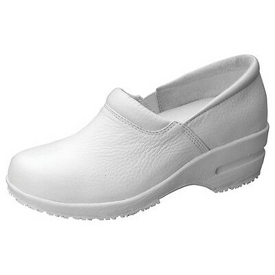 Cherokee Leather Upper Women's Patricia Step In Nursing Shoe (All Sizes)