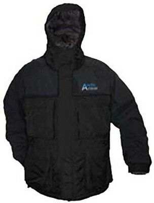 Arctic Armor Floating Extreme Weather Jacket Ice Fishing Snowmobiling Black XL