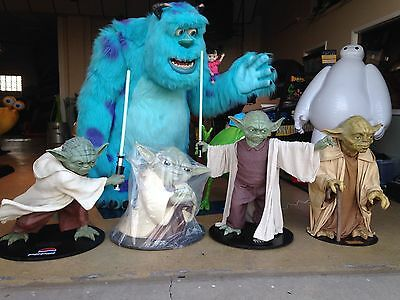 Life Size Star Wars Ultimate Yoda Collection Gentle Giant Pepsi Full Size Statue