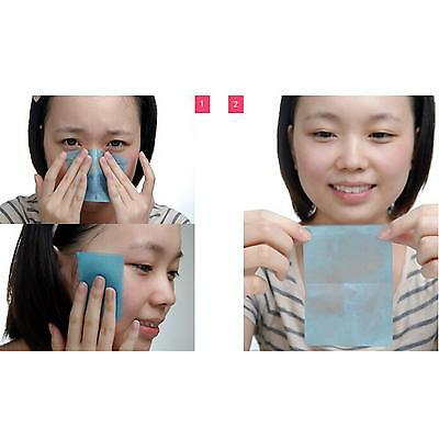 Facial Oil Control Absorb Film Tissue Makeup Blotting Paper Oil Removal Paper