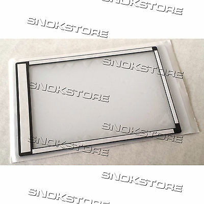 WINDOW DISPLAY OUTER GLASS FOR CANON EOS600D 600D ACRYLIC VETRINO RICAMBIO NEW