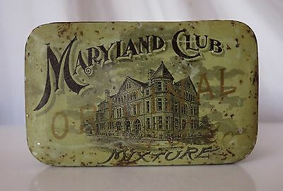 Maryland Club Tobacco Vintage Tin, The American Tobacco Co.