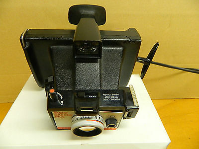 POLAROID SUPER SHOOTER PLUS Land Camera Very Nice Condition with Timer & Strap