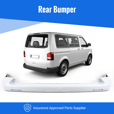 Vw Transporter T5 & T5.1 2003-2012 Rear Bumper Smooth Primed Insurance Approved