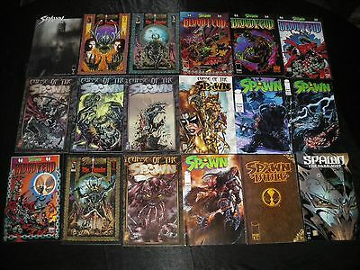 Spawn Fan Edition 1 2 3 Bible 1 Blood Feud 1 - 4 Curse Of The Spawn 1 - 4 9