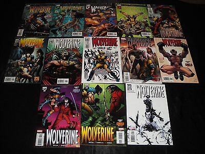 Wolverine 20 -31 21 22 23 24 25 26 27 28 29 30 32 B&w Variant Enemy Of The State