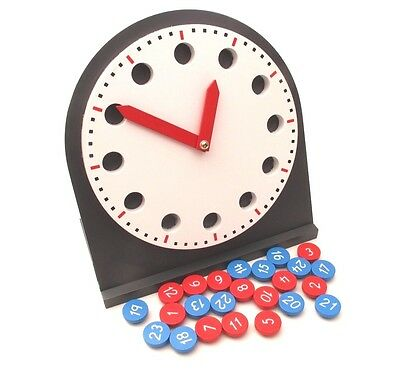 NEW Montessori Mathematics Material- Clock with Movable Hands