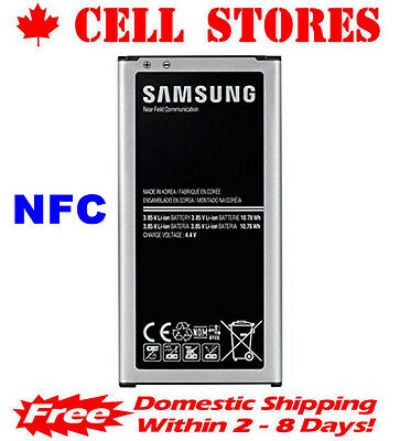 Original OEM Samsung Galaxy S5 / Active / Neo Battery + NFC EB-BG900BBU 2800mAh