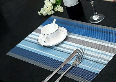 Set of 4 Table Placemats-- 4 Colours Can Be Chosen From