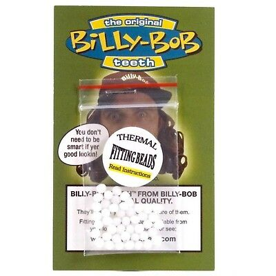 Billy Bob Thermal Fitting Heat Beads for Fake Costume Teeth Putty Beads Molding