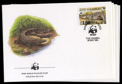 Gambia Nr. 517-20 FDC (1250117055)