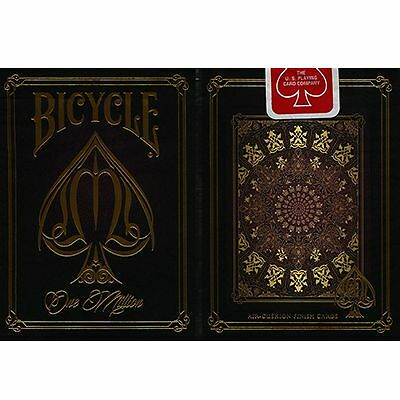 Bicycle One Million Deck (Red) by Elite Playing Cards - Magic Trick