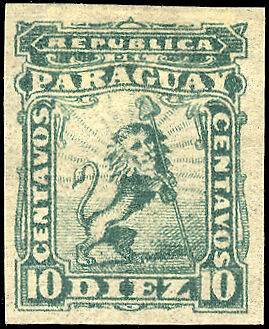 Paraguay Nr. 8 FPU * (1250116307)