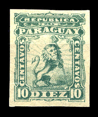 Paraguay Nr. 8 FPU * (1250116308)