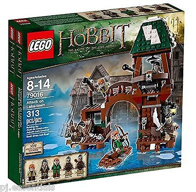 Lego Hobbit Attack On Lake Town 79016 BRAND NEW SEALED