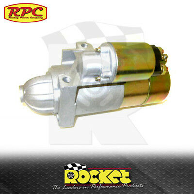 RPC Mini Starter Motor SATIN (Small/Big Block Chev 168T) - RPCR3911