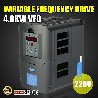4KW VFD Variador de frecuencia COMPETELY SOUNDL CLOSED-LOOP CALCULOUS PID GREAT