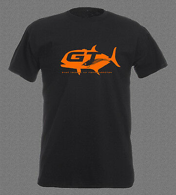 GT Giant Trevally Saltwater Fly Fishing Addiction I. T-shirt