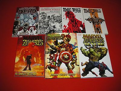 Marvel Zombies Collection Vol 1 - 2 Return 1 -5 Walking Dead Vol 1 Graphic Novel