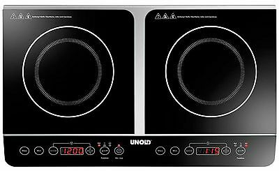 Unold 58175 Elegance Double Induction Hob 3500W Ceramic Glass Surface  GENUINE