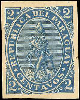 Paraguay Nr. 12 FPU (*) (1250200846)