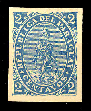 Paraguay Nr. 12 FPU (*) (1250200847)