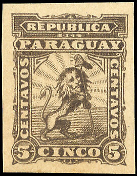 Paraguay Nr. 7 FPU (*) (1250200821)