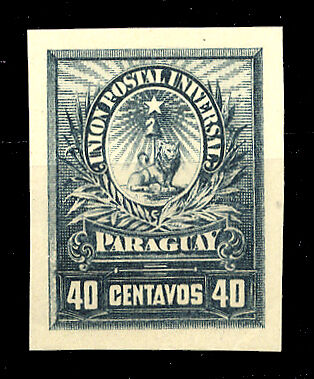 Paraguay Nr. Probe (*) (1250200237)
