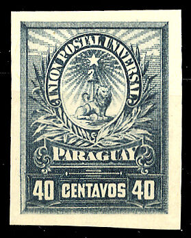 Paraguay Nr. Probe (*) (1250200240)