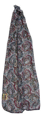 Doctor Who Seventh Doctor Sylvester McCoy Paisley Pattern Lightweight Scarf