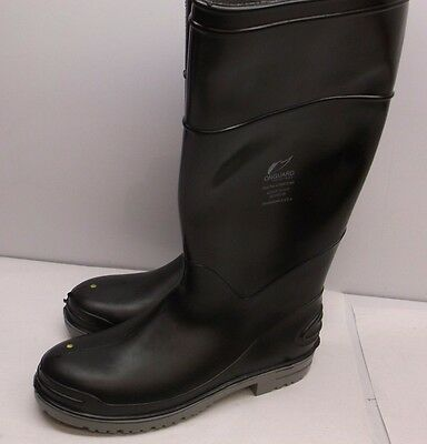 """Onguard Men's Knee boots size 7 8XDH0 16"""" Height Steel Toe NEW (F34K)"""