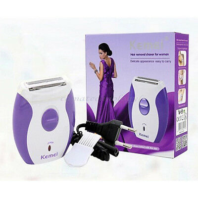 Rechargeable Women's Electric Shavers Trimmer Epilator Bikini Hair Removal Tool