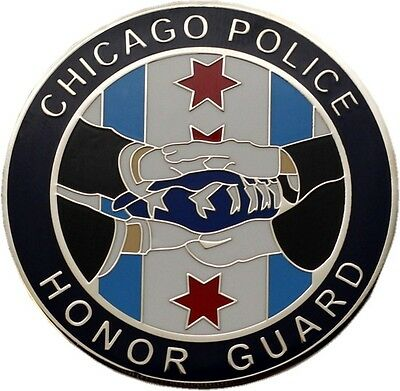 Chicago Police Honor Guard & Honoring Our Fallen Challenge Coin-CPD101