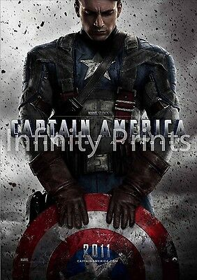 Captain America First Avenger Movie Film Poster A A2 A3 A4