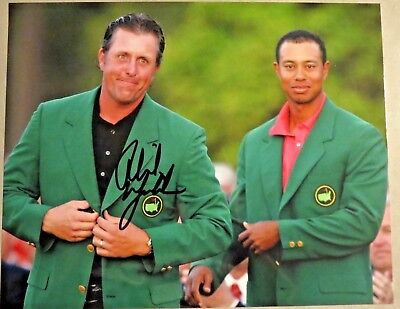 06eb67b08e6 Phil Mickelson SIGNED Autographed 11x14 PHOTO Tiger Woods Multiple  Available PGA