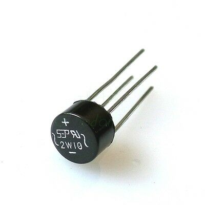 10 PCS 2W10 2A Bridge Diode Rectifier NEW L8