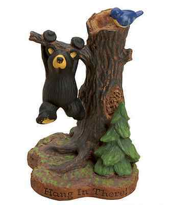 Big Sky Carvers Bearfoots Hang In There Mini Figurine by Jeff Fleming Demdaco