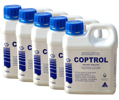 Coptrol Commercial Grade Algicide 5 Pack - For Algae Control in dams & ponds