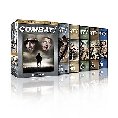 """Combat! The Complete Series DVD (2013) Brand New 40-Disc Seasons 1-5**new**"