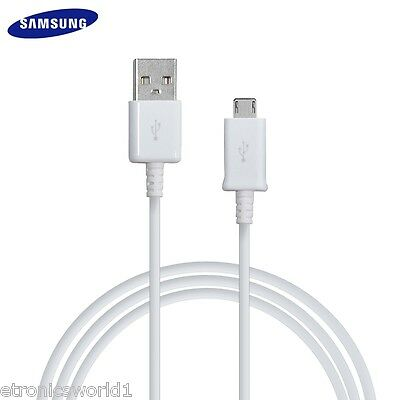 Samsung Original Genuine 1.5M Micro USB Data Charger Cable Galaxy S4 S5 S6 Edge