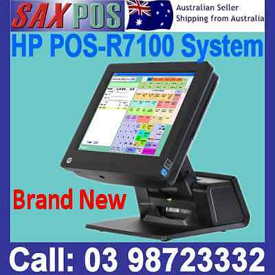 "NEW: HP POS - RP7100 15""Inch Touch Terminal SYSTEM 4GB 128GB WINDOWS 7"