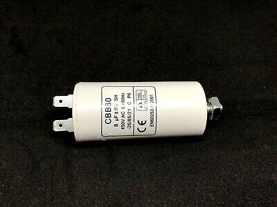 SIMPSON DRYER Motor Run Start Capacitor 8uF Suit All Models p/n 125653961 0226